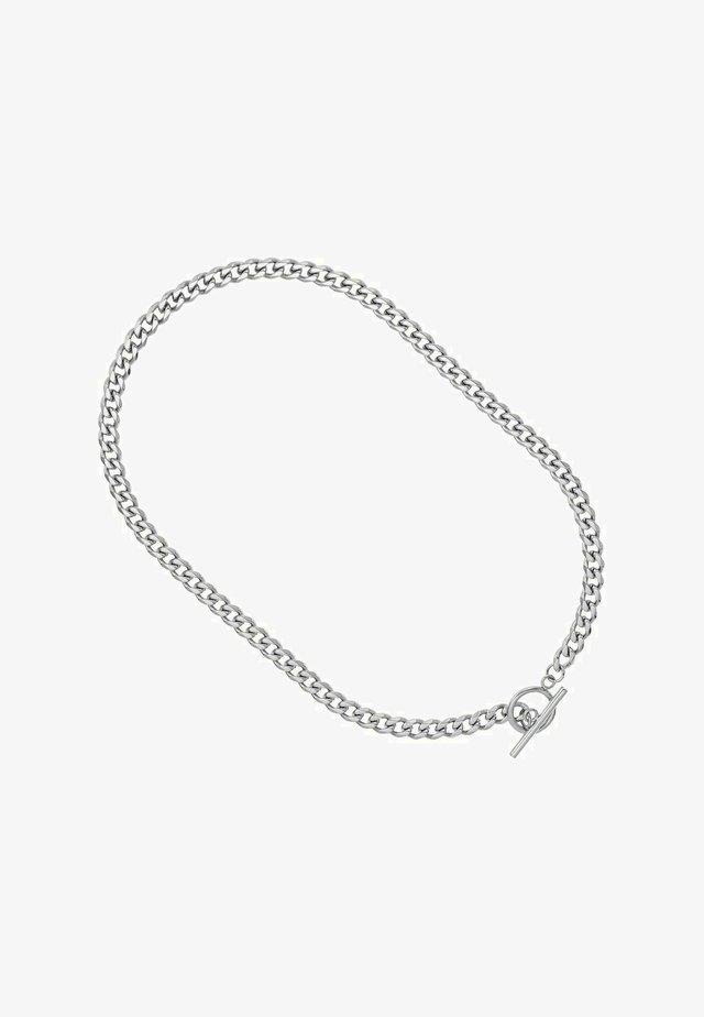 T-BAR CHAIN - Halsband - silber