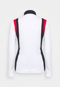 Daily Sports - WILONA HALF NECK - Long sleeved top - white - 1