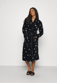 Tommy Hilfiger - TOWELLING ROBE STARS - Dressing gown - desert sky - 1