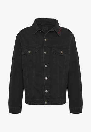 MENNACE SIGNATURE WESTERN - Denim jacket - black