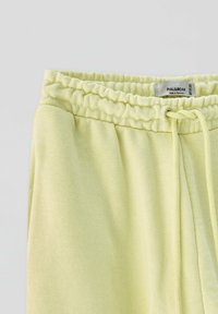 PULL&BEAR - Tracksuit bottoms - yellow - 4