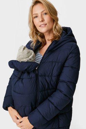 2 in1 UNISEX - Winter jacket - dark blue