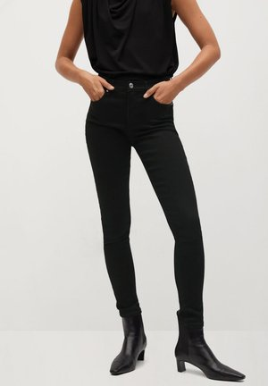 ELSA - Bukser - black denim