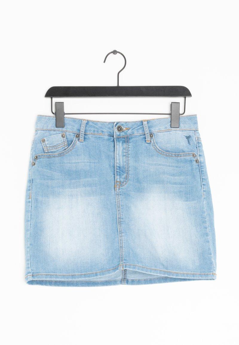 zero - Spódnica trapezowa - blue