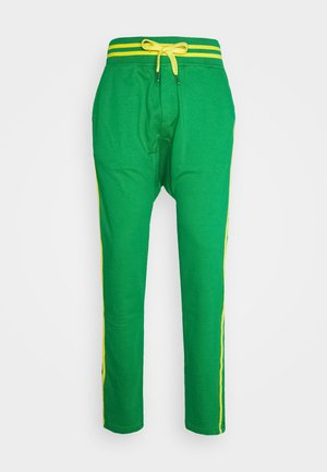 PAUL MODE - Tracksuit bottoms - bresil green/yellow