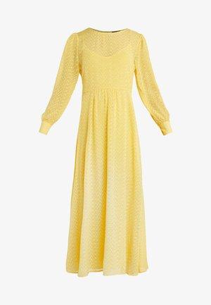 ZILKE LUZIA DRESS - Robe longue - peachy yellow
