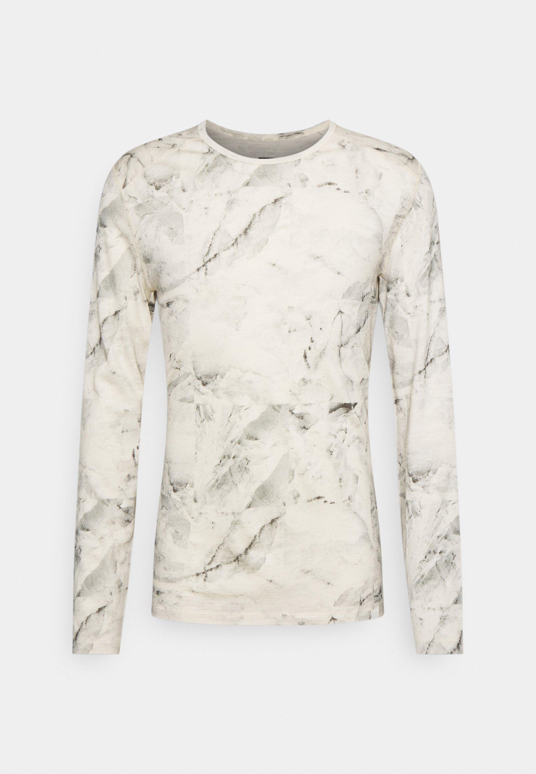 Men NATURE DYE CREWE  - Long sleeved top