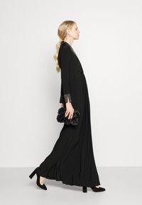 Adrianna Papell - TWIST TUXEDO GOWN - Jersey dress - black - 5
