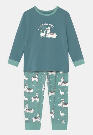 FLORENCE LONG SLEEVE - Pyjama set - teal storm