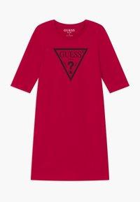 Guess - JUNIOR CORE - Jersey dress - disco pink - 0