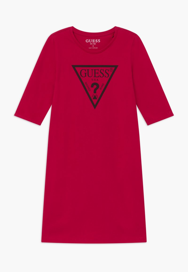 Guess - JUNIOR CORE - Jersey dress - disco pink