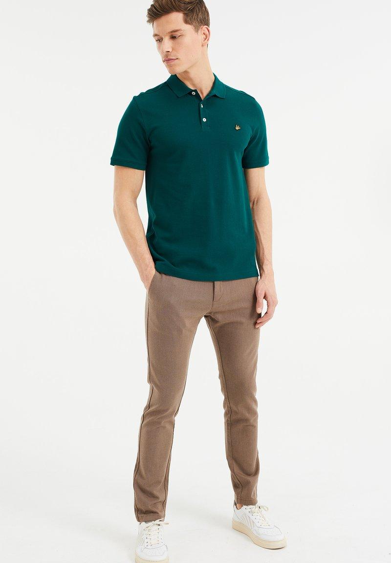 WE Fashion - Poloshirt - dark green