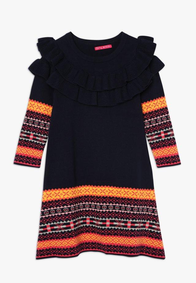ANNA - Jumper dress - marine