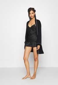 Anna Field - AMANDA DRESSING GOWN  - Badjas - black - 1
