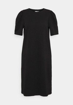 ONLDIANNA LIFE O NECK DRESS - Day dress - black