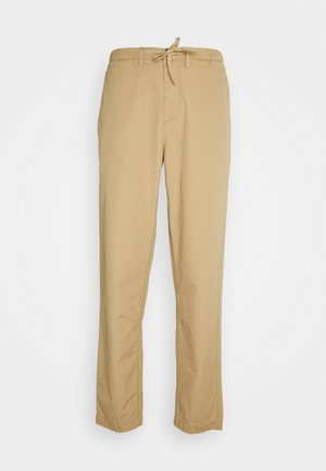 RIPSTOP TROUSER - Chinos - stone