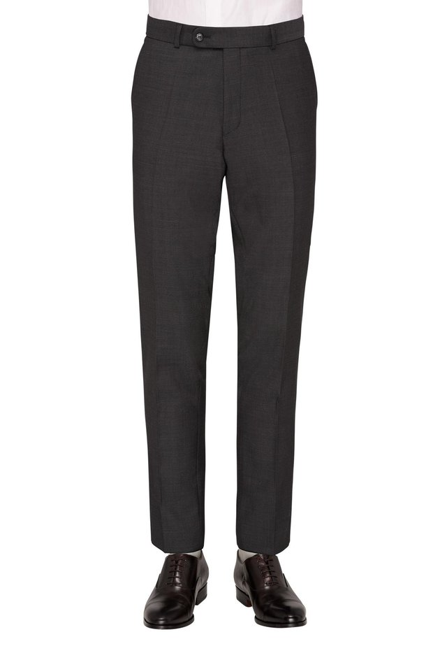 CG SVEN - Suit trousers - dunkelgrau