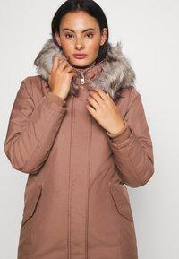 ONLY - KATY - Abrigo de invierno - burlwood - 4