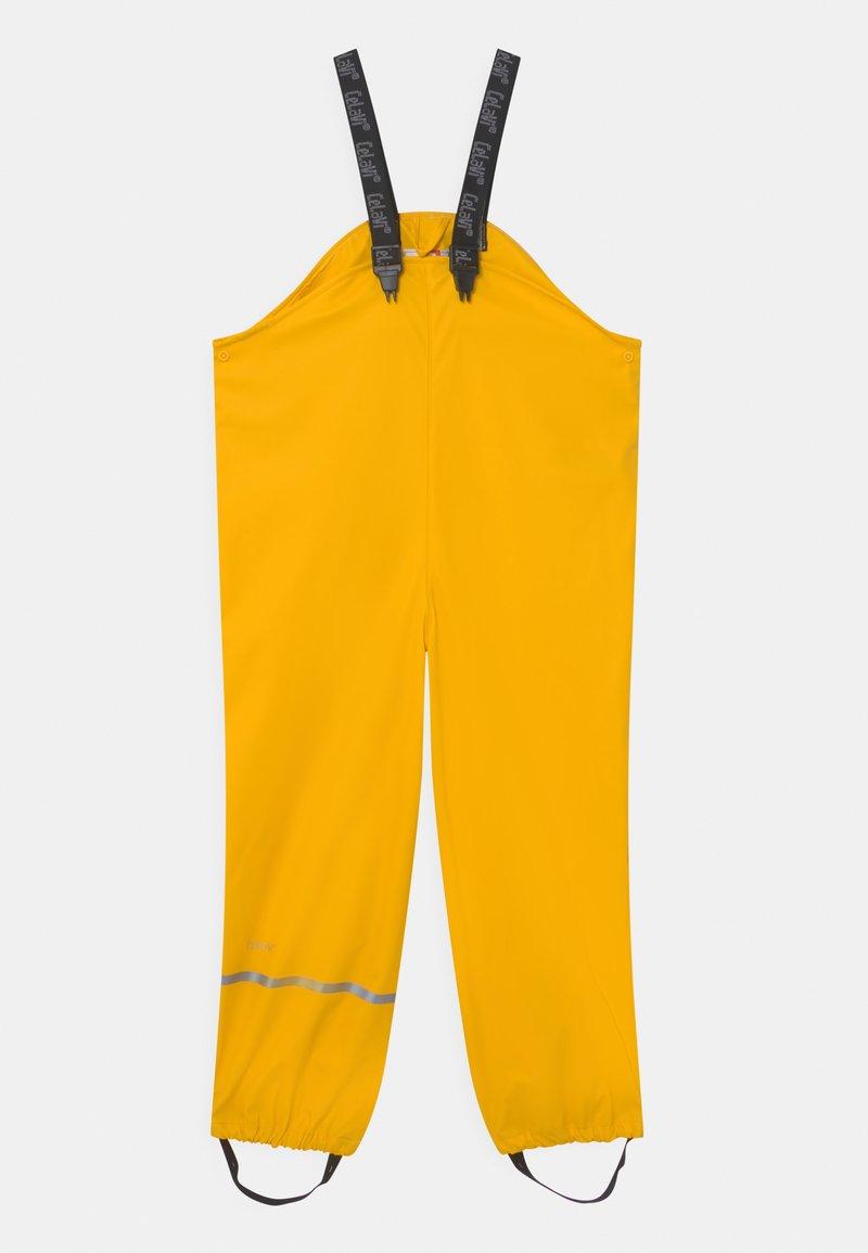 CeLaVi - OVERALL SOLID UNISEX - Kalhoty do deště - yellow