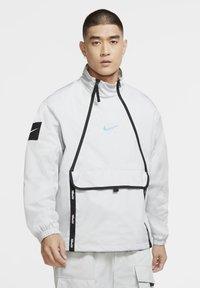 Nike Sportswear - Outdoor jacket - grey fog/black/laser blue - 0