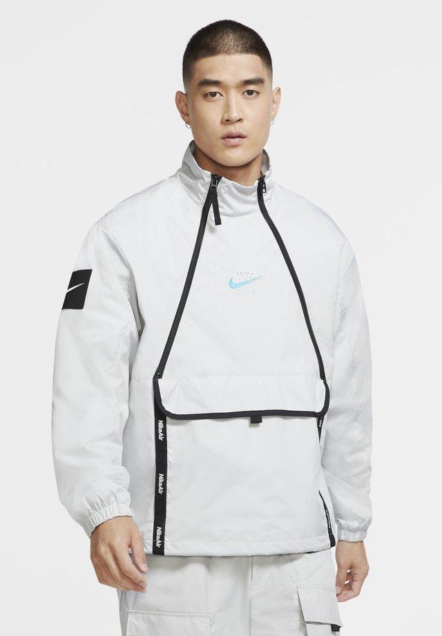 Outdoor jacket - grey fog/black/laser blue