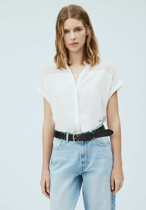 MINA - Button-down blouse - blanco off