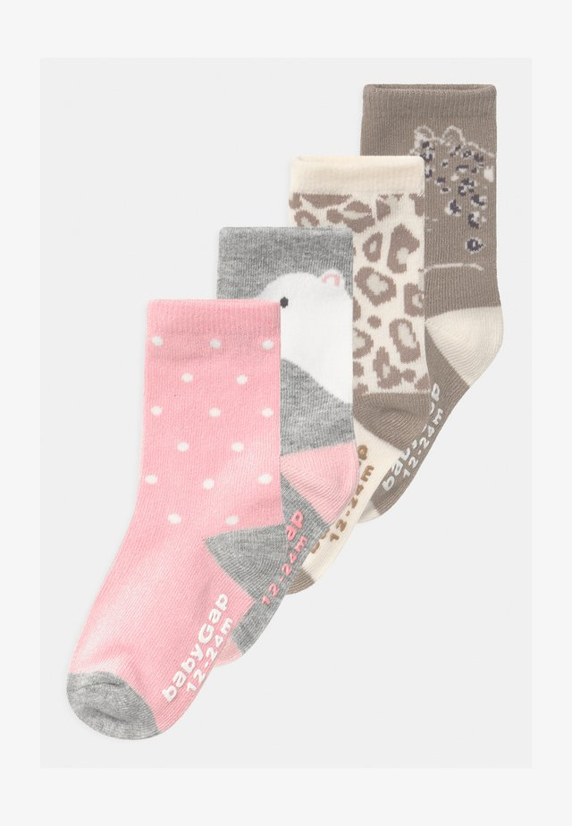 TODDLER GIRL BEAR 4 PACK - Calcetines - multi-coloured