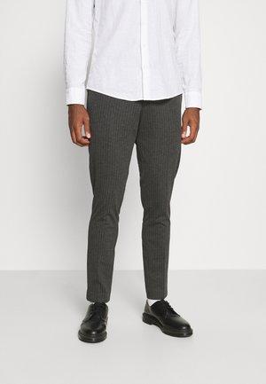 SLHSLIM PETE FLEX STRING - Pantaloni - grey