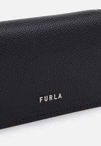 Furla - PROJECT BUSINESS CARD CASE UNISEX - Wallet - nero - 3