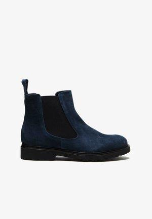 Korte laarzen - blue navy