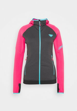 TRANSALPER THERMAL  HOODY - Fleece jacket - lipstick