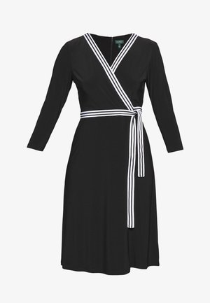 MID WEIGHT DRESS - Jerseyklänning - black