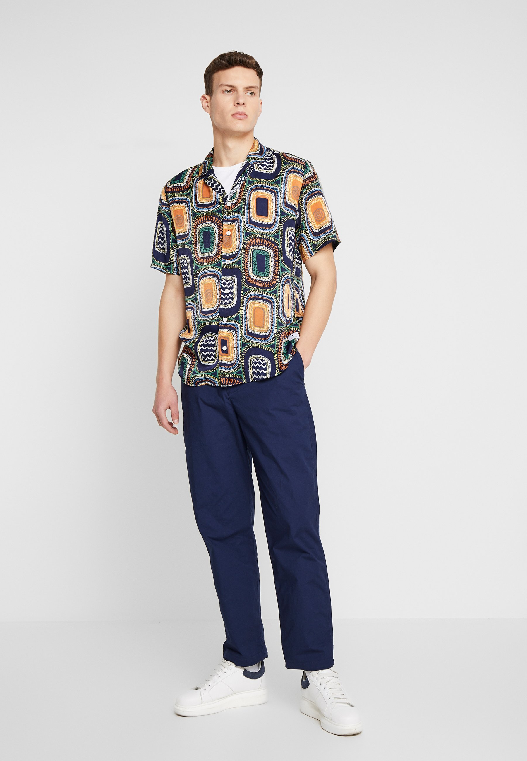 RVLT WITH ALL-OVER PRINT - Chemise - navy