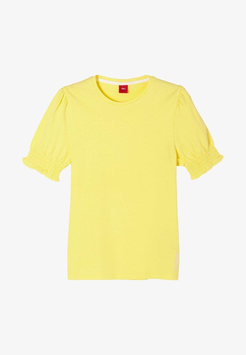 s.Oliver - Basic T-shirt - yellow