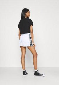 Fila - FIONA HIGH WAIST - Shorts - bright white - 2