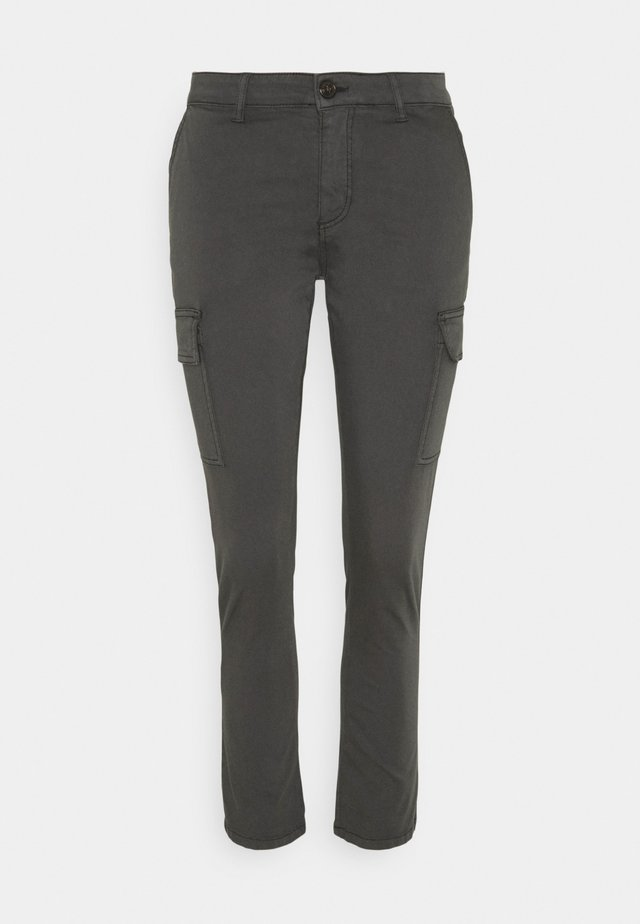 GRETA  - Trousers - anthracite