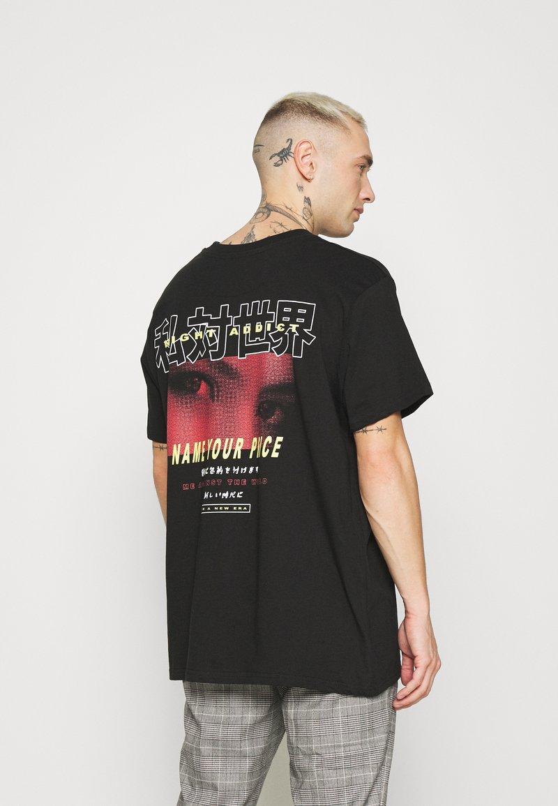 Night Addict - PRICE - T-shirt med print - black