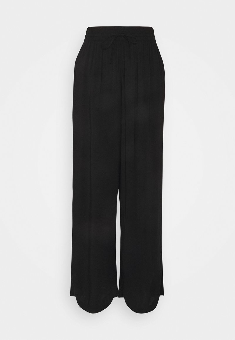 Gina Tricot - DISA TROUSERS - Trousers - black