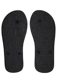 Quiksilver - T-bar sandals - black/grey/grey - 2