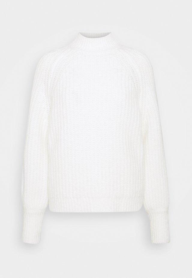 LAMAR - Stickad tröja - offwhite