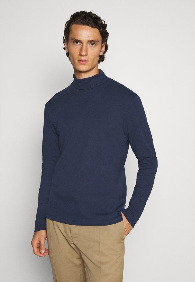 JPRBLARAY ROLL NECK - Maglietta a manica lunga - navy blazer