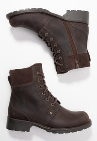 Clarks - ORINOCO SPICE - Lace-up ankle boots - dark brown - 3