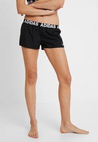 adidas Performance - BEACH - Plavky - black - 0