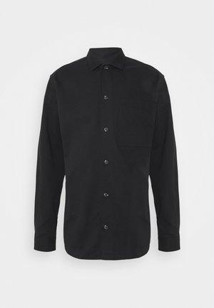 SLHLOOSETIVAN  - Zakelijk overhemd - black