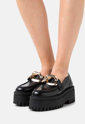GIGI - Platform heels - black