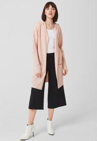Q/S designed by - Cardigan - mellow pink melange - 1