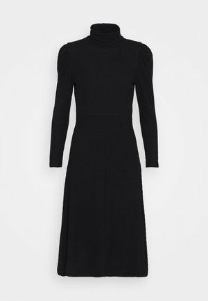 ONLNELLA ROLL NECK DRESS - Robe pull - black