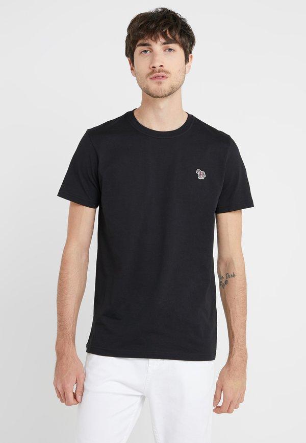 PS Paul Smith SLIM FIT ZEBRA - T-shirt basic - black/czarny Odzież Męska KFQH
