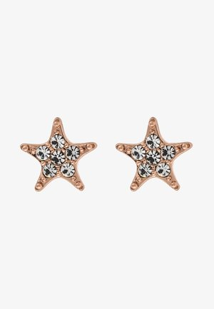 STAR SMALL EAR - Earrings - rosé/clear