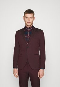 Selected Homme - SLHSLIM-MYLOLOGAN SUIT - Traje - winetasting - 2